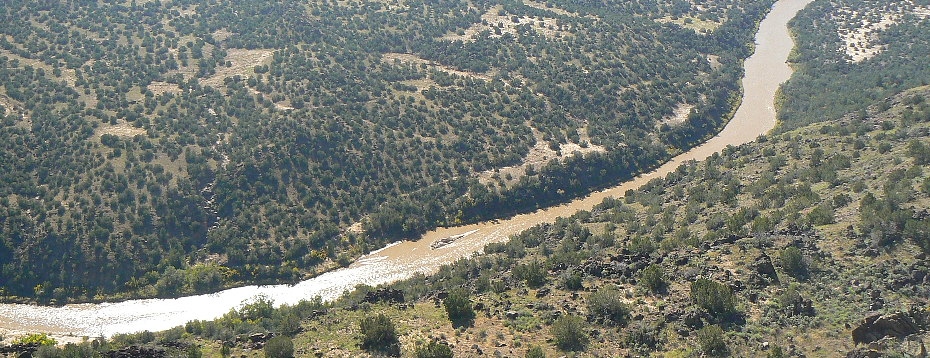 Rio Grande near Los Alamos NM